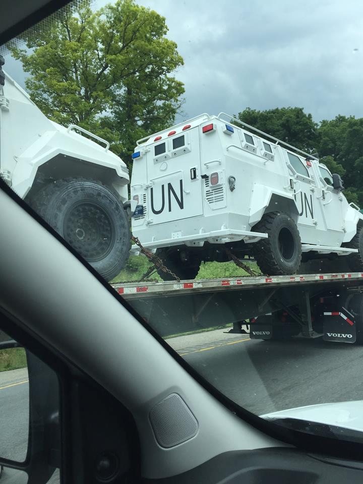 UN vehicle 1