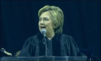 Bitter Hillary whines to college grads: 'I wish I had flown in from White House' - The American Mirror