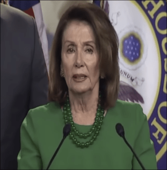 WHAT'S WRONG WITH NANCY? Trump quotes leave Pelosi tongue-tied - stops self from calling president 'Bush' again! - The American Mirror