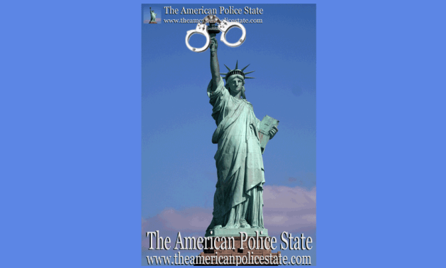 The Statue of Liberty in a Police State