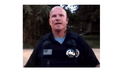 Wichita, Kansas Thug Deputy Vance Williams