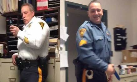 NJ Officer Andrew Huber sued for harassing coworkers with a dildo
