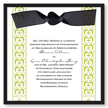 Formal Wedding Invitation To Inspire You How Make The Look Fair 7