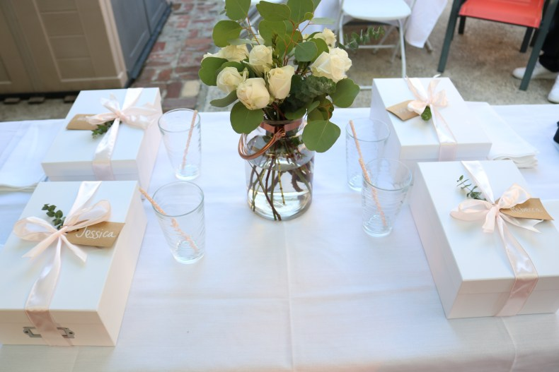 details of the bridesmaid proposal party