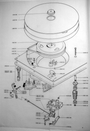 Thorens Factory Drawings