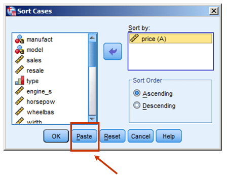 delete observations spss syntax