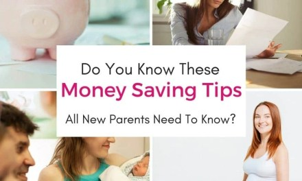 EASY! 8 Ways Every New Parent Can Save Money!