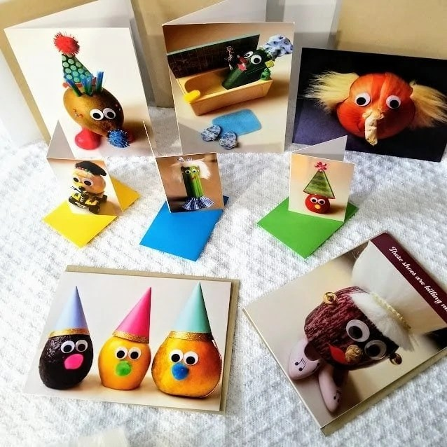 Wee The Veggies: A Greeting Card Review