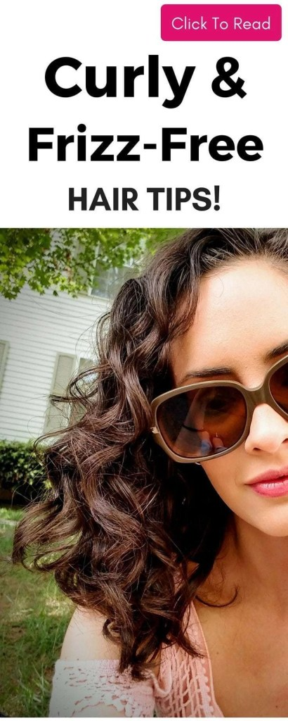 Want curly frizz-free hair? It's possible! After years of not knowing what to do with my hair, I discovered this! Read now so you can get the beautiful bouncy curls without frizz you've always wanted!