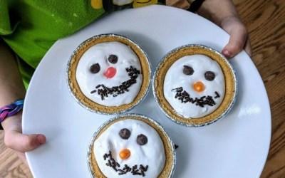 Easiest Holiday Dessert Your Preschooler Can Make!