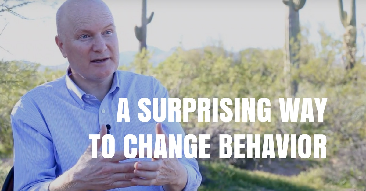 A SURPRISING Way to Change Negative Behavior...