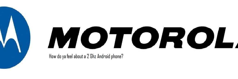 Motorola Logo 2 Ghz Android Phone