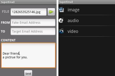Super Email Android App