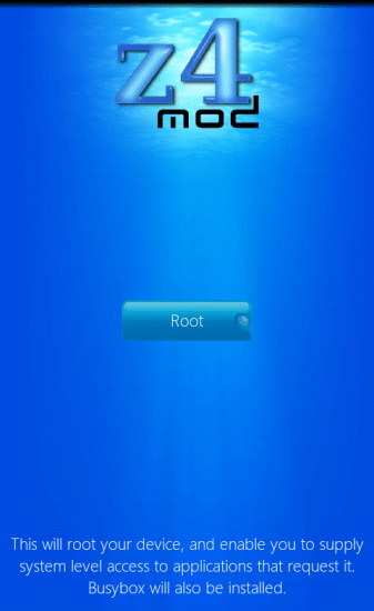 z4root android app