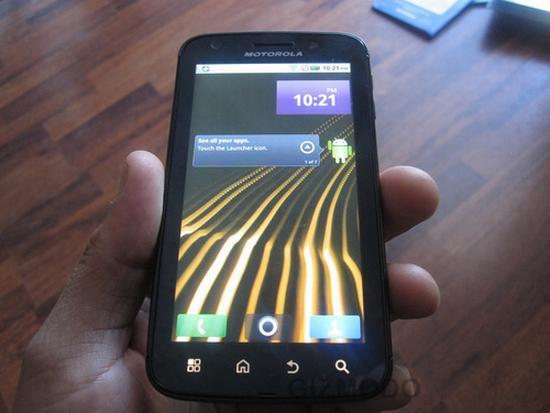 Motorola Olympus Leak Pics