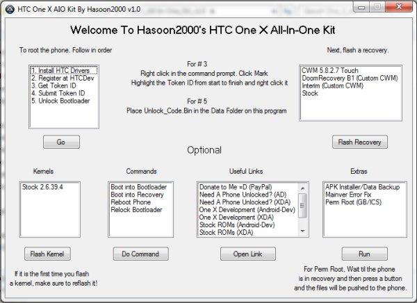 One X AIO Toolkit