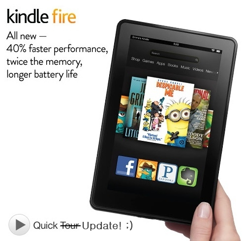 kindle fire 2nd generation update