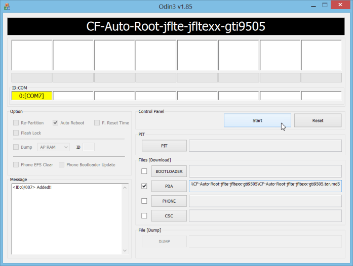 CF-Auto-Root for Galaxy S4 GT-I9505
