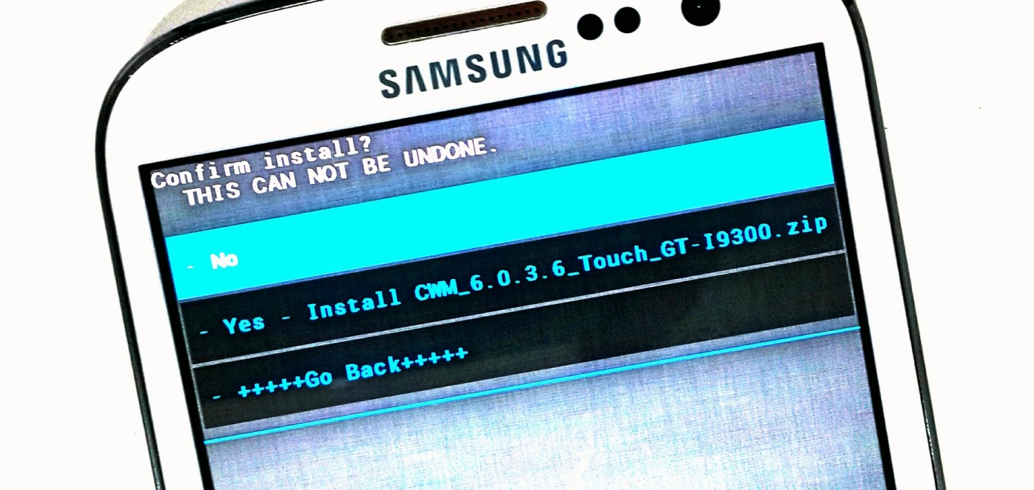 CWM and TWRP Recovery for Samsung Galaxy S3 GT-I9300
