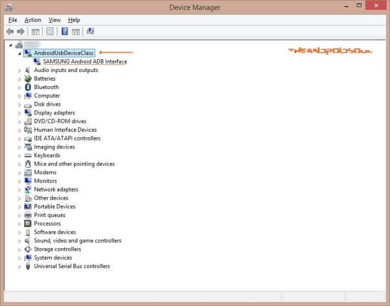 Verifying Drivers Installation under Device Manager