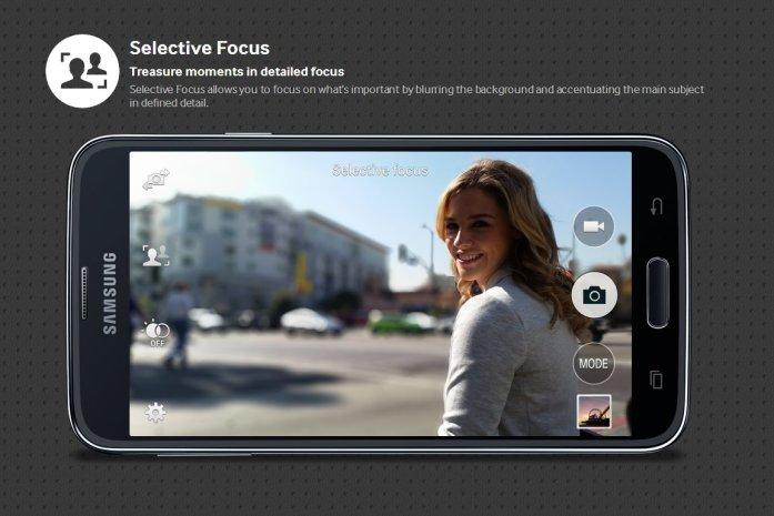 Galaxy S5 Selective Focus