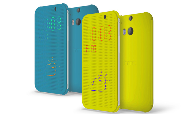 HTC DotView Case Yellow