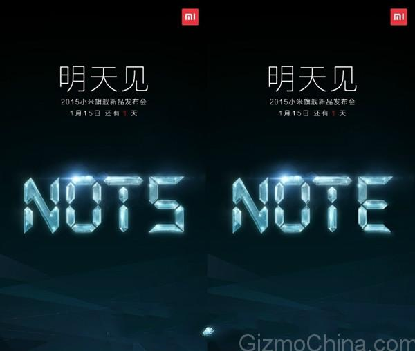 Xiaomi Note Specs