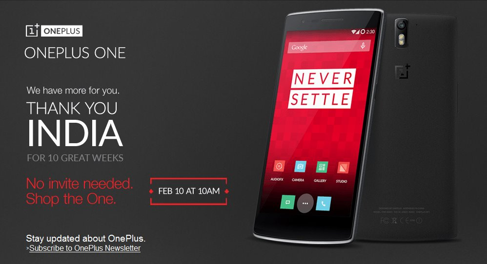 OnePlus One Sale