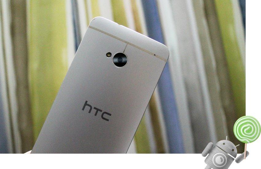 AT&T HTC One M7 Lollipop