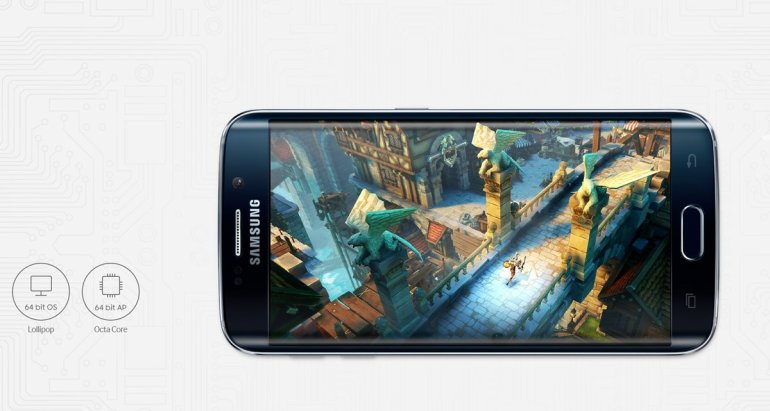 Galaxy S6 edge Features - Processor