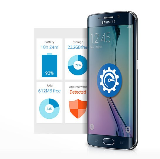 Galaxy S6 edge Features - Smart Manager
