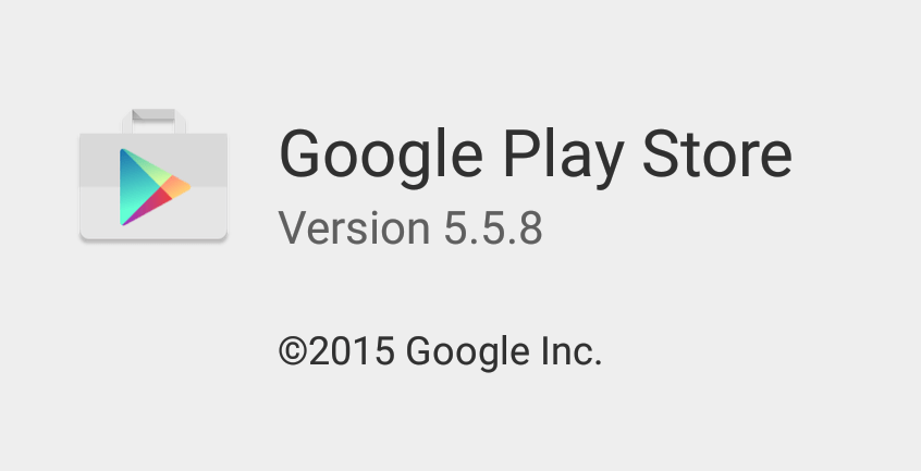 Play Store 5.5.8