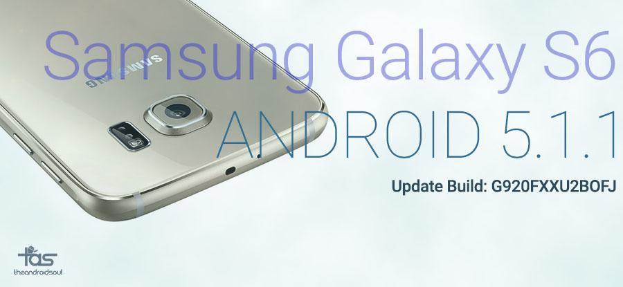 Galaxy S6 5.1 Update