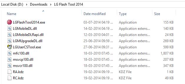 LG G2 Lollipop Update Fashtool