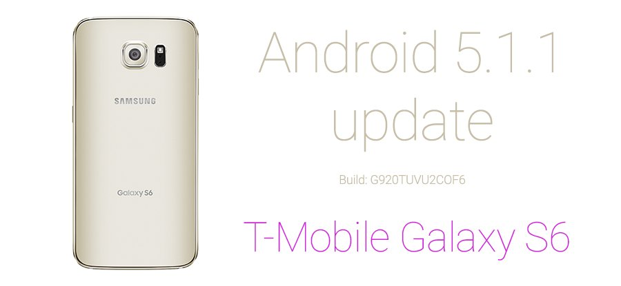 T-mobile Galaxy S6 5.1.1 udpate odin tar