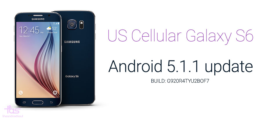 US Cellular Galaxy S6 Android 5.1 Update