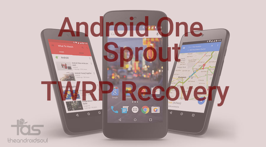 Android One TWRP recovery