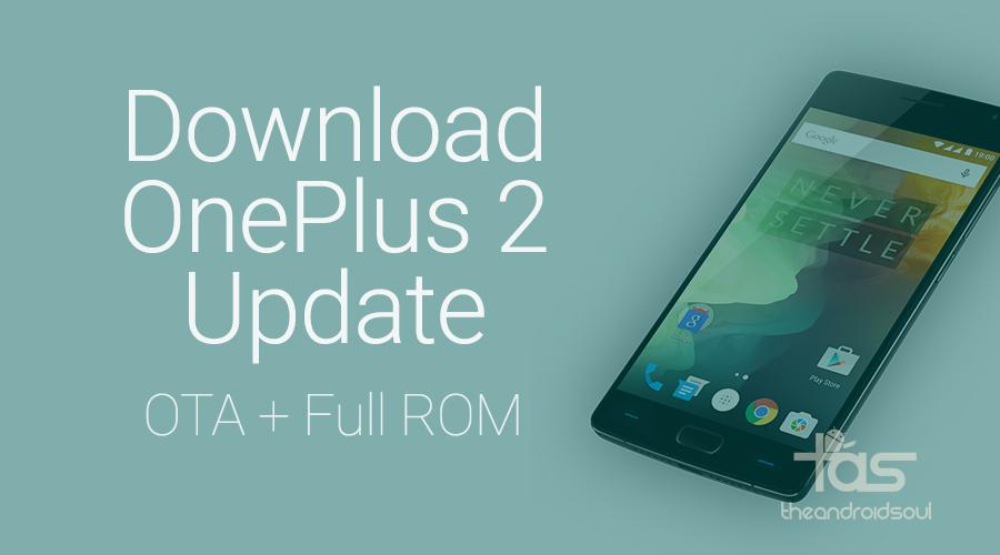 Download OnePlus 2 OTA Update