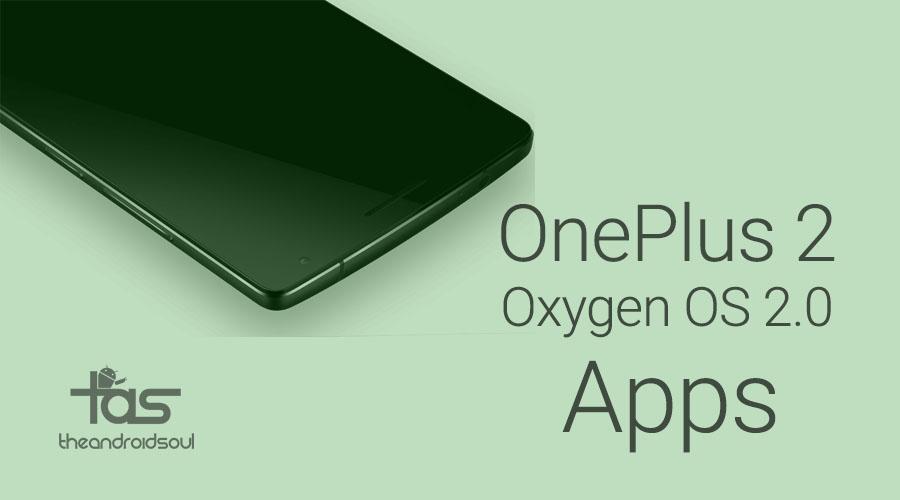 OnePlus 2 Apps