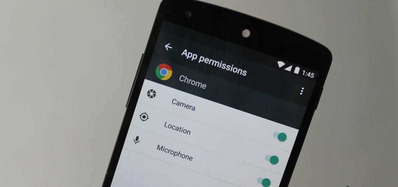 Marshmallow App Permissions