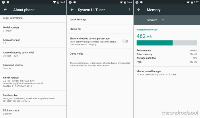 Galaxy S3 Marshmallow ROM