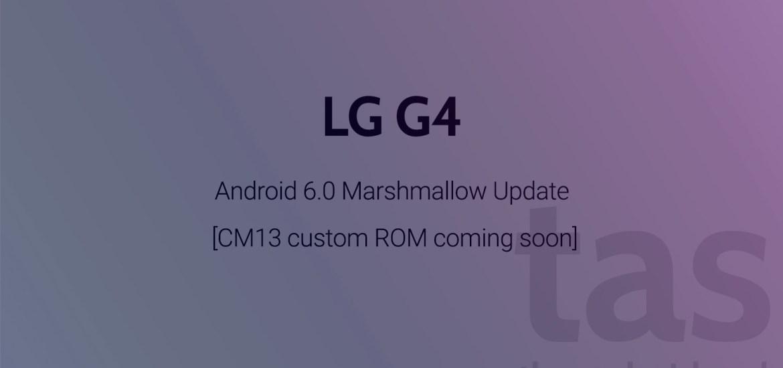 LG G4 CM13
