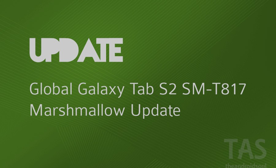 sm-t817 Marshmallow update