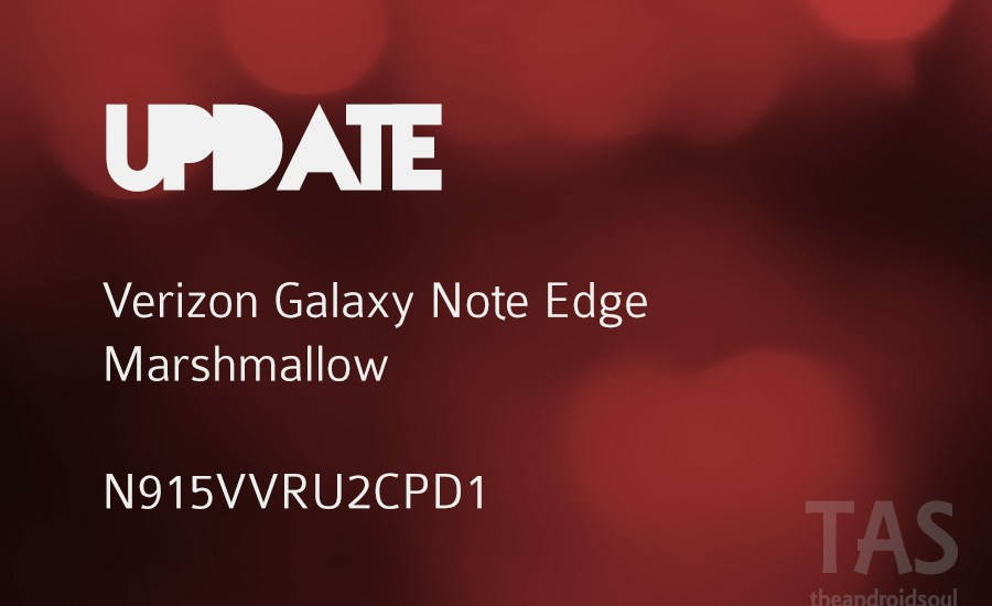 verizon note edge Marshmallow pd1