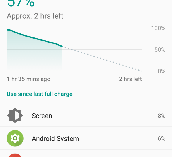 Android Nougat battery issue