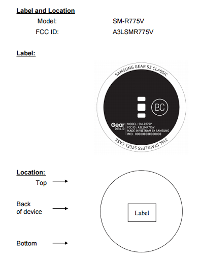 Samsung Gear S3 Classic set to release soon at verizon, clears FCC