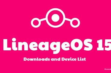 LineageOS 15 release date