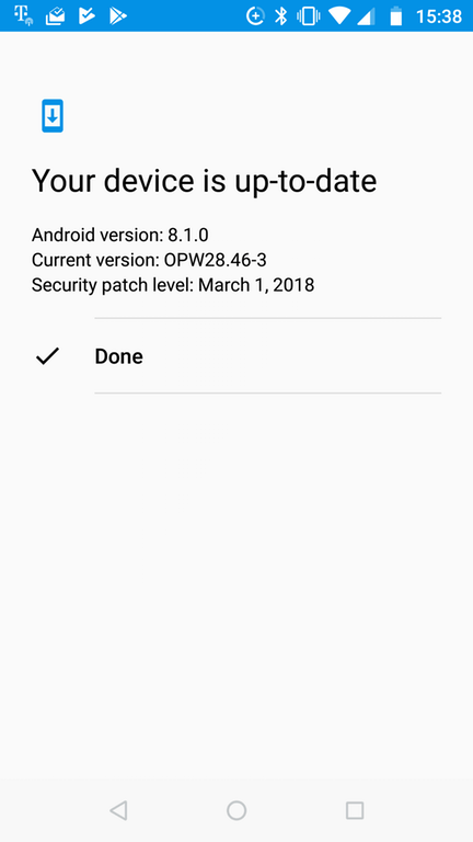 Moto X4 Android 8.1