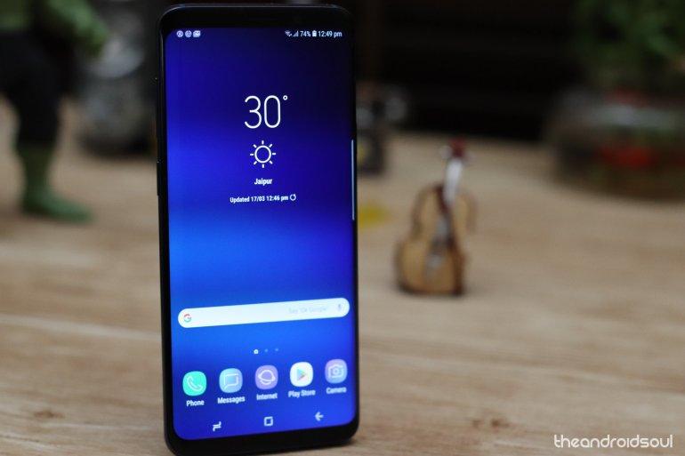 Galaxy S9 Plus smartphone