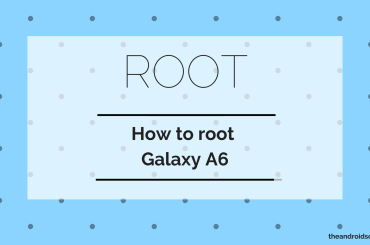Galaxy A6 root